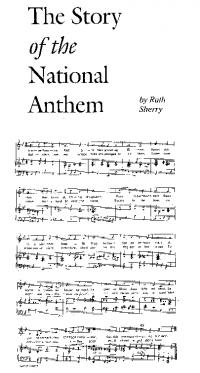 Sheet music of A Soldier's Song/ Amhrán na bhFiann—Peadar Kearney wrote the words (in English) in 1907; Paddy Heaney, and possibly Seán Rogan, helped him with the music.