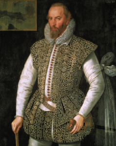 Above: Sir Walter Raleigh—provided one of the first 'public' notices of the countess's great feat of longevity. In his History of the world (1614) he claimed: 'I myself knew the old Countess of Desmond, of Inchiquin in Munster, who lived in the year 1589, and many years since; who was married in Edward the Fourth's time, and held her joynture from all the Earles of Desmond since then; and that this is true all the Noblemen and Gentlemen of Munster can witnesse'. (Marriage settlements in wealthier families often specified a jointure, usually a piece of property that would act as a residence and allow a widow to support herself until her own demise, or she would be entitled to dower, a portion of her husband's property.) Raleigh was the only person who claimed in print actually to have met the dowager countess. Fynes Moryson, Francis Bacon and other eminent English writers were later to cement her reputation, each adding hearsay evidence to round out the picture of her life. (National Gallery of Ireland)
