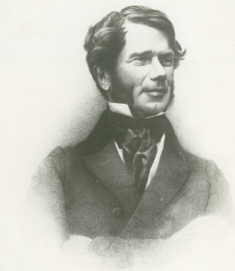 Above: Willliam Smith O'Brien in 1848, aged 45. By then he had moved from the error, failure and temptation of his youth towards a reputation for self-sacrifice, integrity and patriotism.