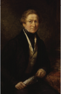 Sir Robert Peel—the passage by Home Secretary Peel and Prime Minister Wellington of 'An Act for the Relief of His Majesty's Roman Catholic Subjects' in 1829 allowed Smith O'Brien in good conscience to support, as his father demanded, the now-embattled Peel.