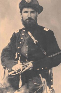 Picture shows Capt. Patrick Sarsfield Real c. 1864
