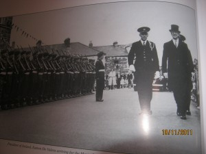 Photo of President of Ireland Eamon De Valera visiting Sligo, that my Granda.