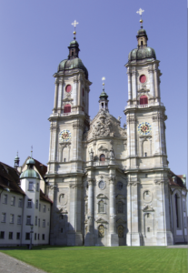 The Abbey of St Gall today—recognised by UNESCO as a World Cultural Heritage Site since 1983.