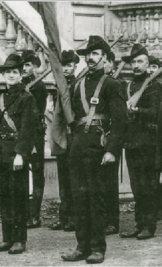 Captain James Robert ('Jack') White, first commander of the Irish Citizen Army. (George Morrison)