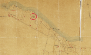 The 'old watch tower' (circled) is still atop the hill. The area of modern Dún Laoghaire (below), where the earliest development was around the intersection of York Road and Lower George's Street, north-west of the present-day town centre. 'Churl Rocks' were close to what is now Dún Laoghaire train station. (National Library of Scotland; National Galleries, Scotland)