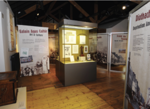 Unusually for a museum in Northern Ireland, all the information throughout is in both Irish and English.