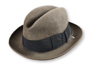 Connolly's bullet-pierced hat. (National Museum of Ireland)