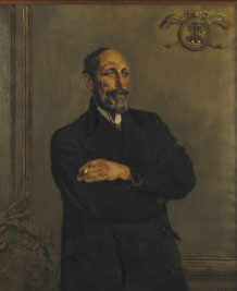 Portrait of Laurence Kettle by Seán Keating. (© the estate of Seán Keating, IVARO 2013)
