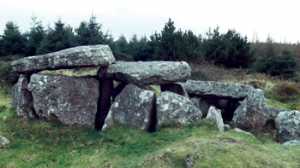 The remains of a Neolithic passage tomb, known locally as Darby's Bed, on Duntryleague Hill, north of the Galtee Mountains, close to where Cormac Cas, Brian Boru's ancestor, was buried. Is it a coincidence that it was on the political fault-line between two power blocks, Thomond and Desmond? (Cathy Swift)