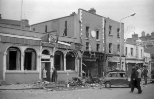 The Welcome Inn on Parnell Street, where the first Dublin bomb exploded at c. 5.28pm, killing ten people. (Dublin City Public Libraries)