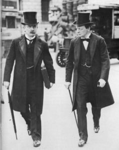 David Lloyd George and Winston Churchill—their public utterances on Home Rule tended to wax and wane but it may not be unlikely that a portion of the Liberal cabinet was well disposed towards a moderate arming of the Volunteers.