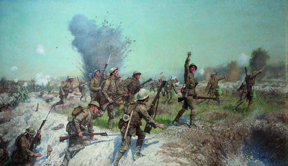 a history of the battle of somme