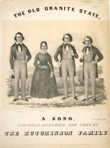 Also on board the Cambria was the famous abolitionist musical family the Hutchinsons, who had shared the stage with Douglass on a number of occasions.