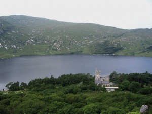 Glenveagh Castle, Co. Donegal, located in such a glorious setting, remains as a testimony to Adair's refined tastes. (Glenveagh National Park)