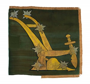 The flag after conservation.