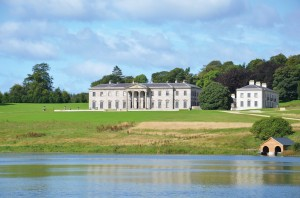 The recently restored mansion at Ballyfin, Co. Laois.