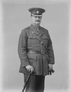 Captain W.A. Redmond in British Army uniform. (NLI))