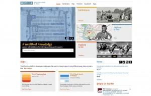 DPLA home page
