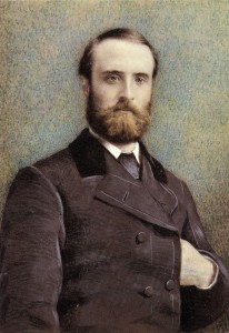 Postcard of Charles Stewart Parnell, c. 1881.