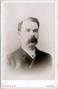 Top: Dr Patrick Henry Cronin. (Chicago History Museum)