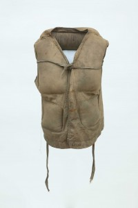 A Lusitania life-jacket.