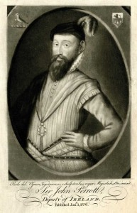 Sir John Perrot, who became the first president of Munster in 1570–1, was tasked with suppressing the Desmond rebellion. (British Library)