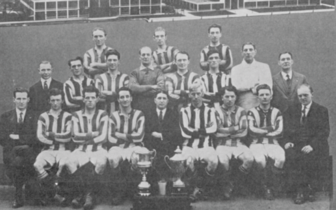The Fordson FC Free State Cup-winning team of 1926.