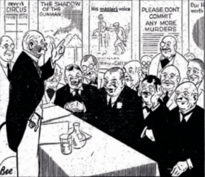 In the run-up to the 1932 general election the Irish Press published a confidential circular from a committee composed mainly of ex-unionists soliciting financial support for Cumann na nGaedheal. (Irish Press, 12 December 1931)