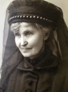 The widowed Mary Jane O'Donovan Rossa in August 1915. Daughter of Maxwell Irwin, a Young Irelander, she was publishing her own nationalistic poetry in the Irish People when she met her future husband in 1863 at the age of eighteen.
