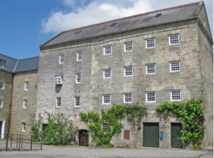 Fancroft Mill, near Roscrea, Co. Tipperary: a multi-storey flour mill of c. 1780, magnificently conserved and restored to working order by its present owners, Marcus and Irene Sweeney. As part of Heritage Week it will be open to the public on Saturday 29 August. Booking @ Fancroft.ie. (Marcus and Irene Sweeney)