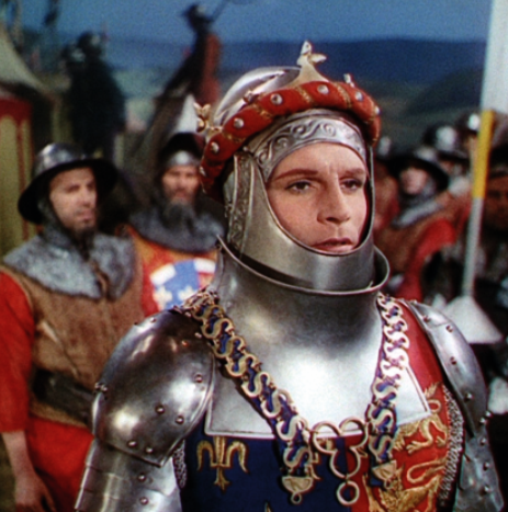 Laurence Olivier in Henry V (1944). According to 'Historians for Britain' (HfB), 'ancient institutions, such as the monarchy … have survived (and evolved) with scarcely a break over many centuries'.