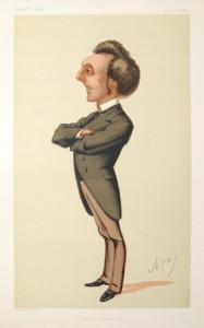 Sir John Pope Hennessy, governor of Mauritius 1882–9—a middle-class Catholic nationalist. (Vanity Fair, 27 March 1875)