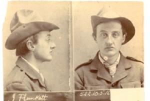 Above: Joseph Plunkett—the primary planner of the Rising. (Kilmainham Jail)