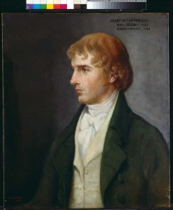 Henry Joy McCracken—in 1791 Neilson suggested to his friend the idea of forming a society based on Wolfe Tone's Argument on behalf of the Catholics of Ireland, which championed equal rights and treatment before the law for everyone. (Ulster Museum)