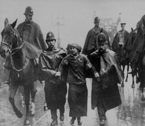 Sylvia-Pankhurst-being-arrested