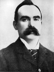 James Connolly—prior to his 'kidnapping' on 19 January 1916 he suspected the IRB Military Council as 'would-be Wolfe Tones—legally seditious and peacefully revolutionary'.