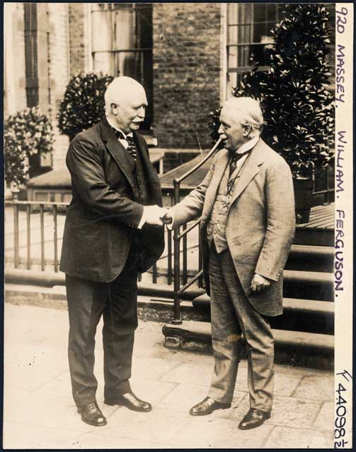 with Lloyd George