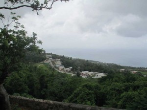 The village of Church View in the parish of St John along the east coast of Barbados—one of the few communities with a significant 'Redleg' population, a racially diverse community claiming European and African ancestry.