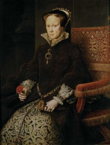 Queen Mary by Antonis Mor, 1554. Did her reign mark a 'watershed' in Ireland's experience of the Reformation?