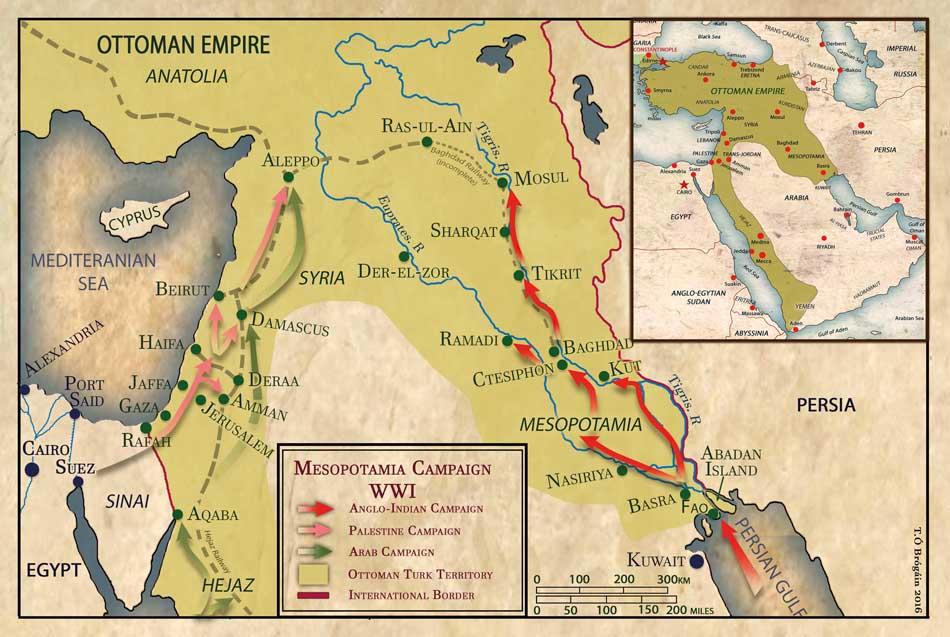 Mesopotamia Camapaign WWI 1916 draft 5