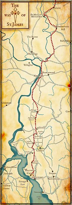 St.James-Pilgrimage-map