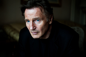 Narrator Liam Neeson provided 1916 with Hollywood star power. (James Mooney)