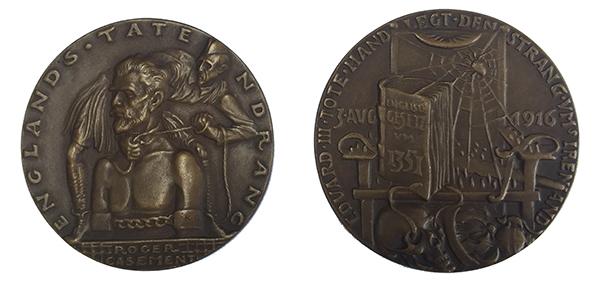 Above: Karl Goetz's 'Execution of Roger Casement'.