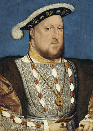 Above: Henry VIII of England—in the run-up to Flodden, James IV of Scotland hoped to take advantage of his absence in France.