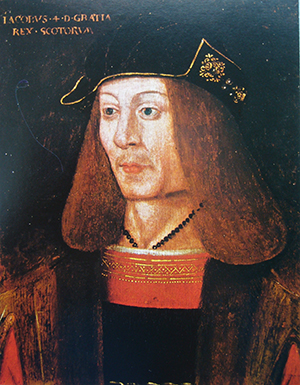 Above: James IV of Scotland—killed on 9 September 1513 at Flodden field in Northumbria, where his army of 30,000 was decimated by a smaller English force led by Thomas Howard, earl of Surrey. Little attention has been paid to the broader Gaelic dimension underpinning James's Flodden campaign.